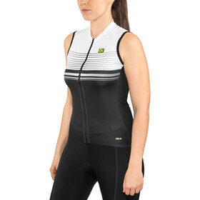 Alé Cycling Graphics PRR Slide Maillot sans manches Femme, black-white